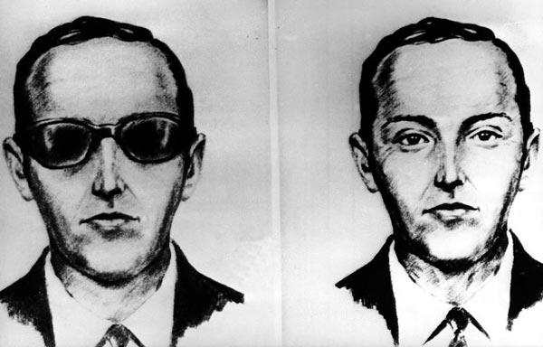 Retrato robot de D.B. Cooper del FBI