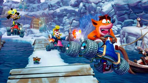 Imágenes del videojuego Crash Team Racing