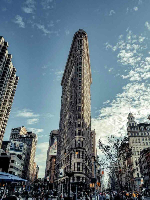 El Flatiron Building, el primer rascacielos de Nueva York