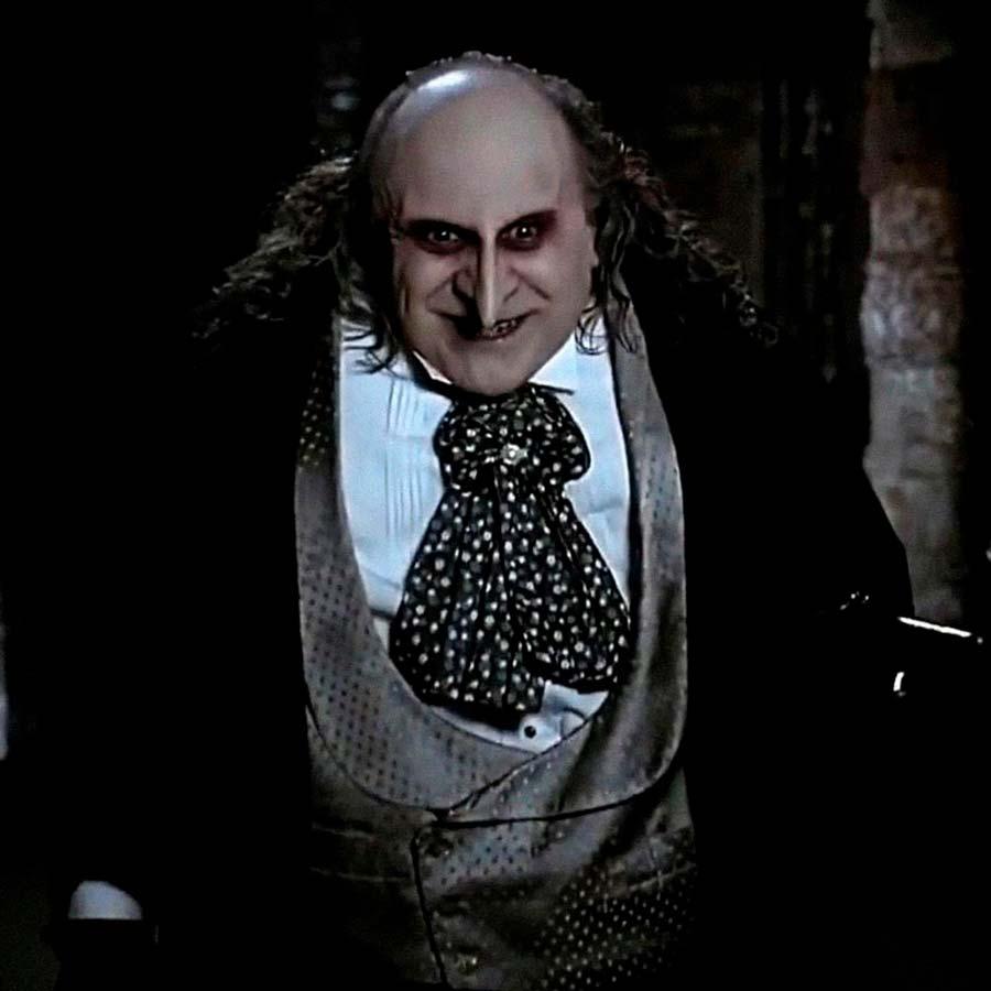 El Pingüino de Batman Returns interpretado por Danny DeVito