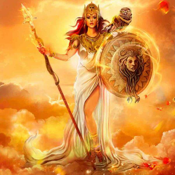 El nacimiento de Atenea según la mitología griega