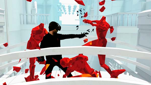 Escena superpuesta con el jugador en la pantalla del juego