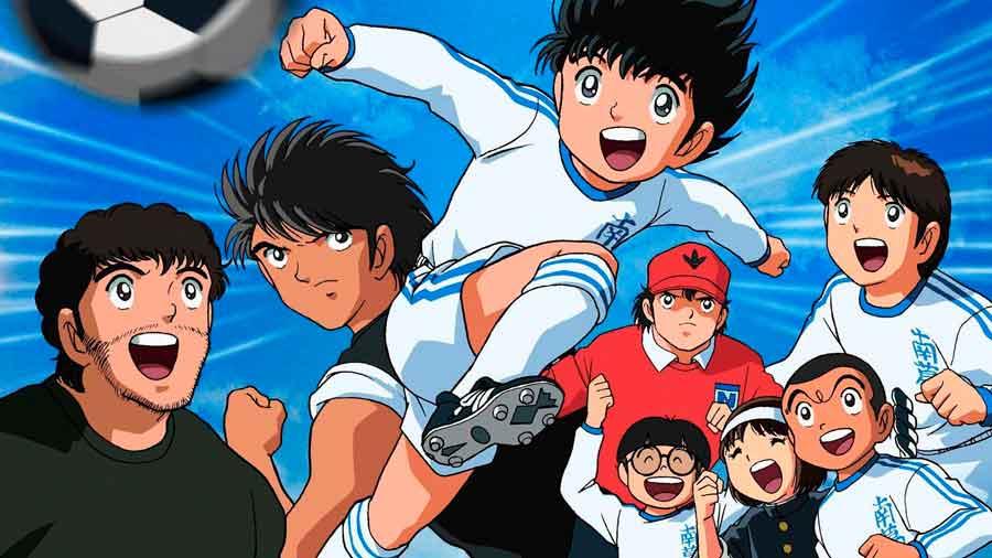 La animación Oliver y Benji como inspiración del fútbol profesional