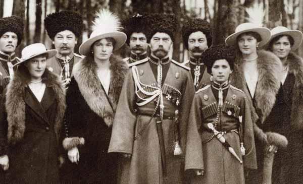 La familia Romanov