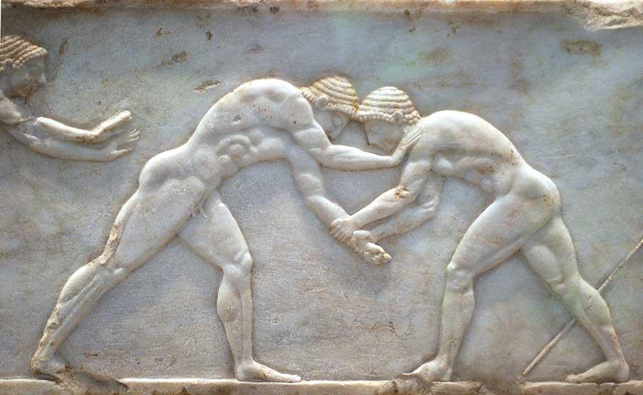 Los primeros Juegos Olímpicos de la Antigua Grecia