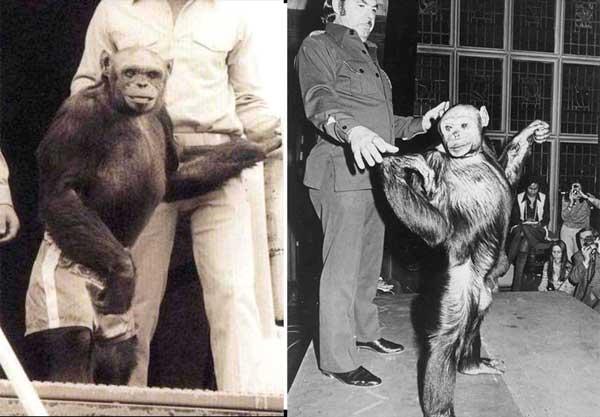 Oliver fotografiado junto al Dr. Berger (izquierda) y Michael Miller (derecha)